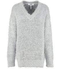 msgm v neck pullover