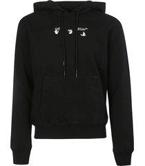 off-white bolt arrow slim hoodie