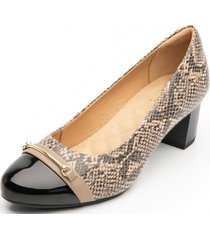 zapato mujer nany beige flexi