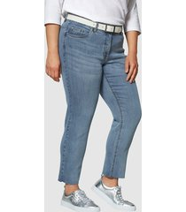 jeans angel of style blauw