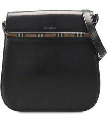 burberry pre-owned vintage check crossbody bag - black