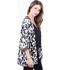 kimono leia animal print manchas jacinta tienda