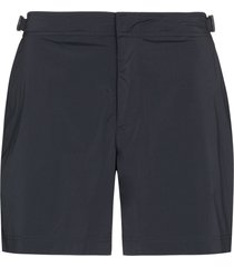 orlebar brown bulldog swim shorts - grey