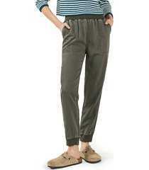 faherty arlie day pants, size medium in surplus green at nordstrom