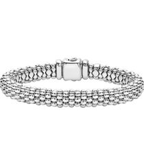 women's lagos caviar rope bracelet