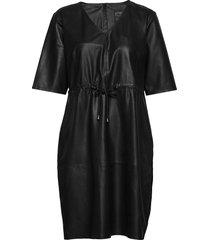 50164 jurk knielengte zwart depeche