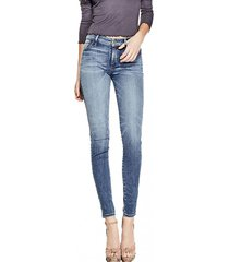 jeans sexy curve azul guess