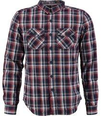 superdry gevoerd overhemd slim fit