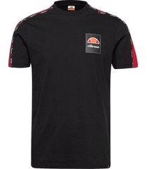 el serchio tee t-shirts short-sleeved svart ellesse
