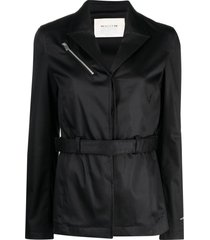 1017 alyx 9sm single-breasted belted blazer - black