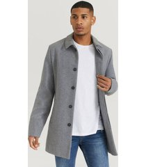 rock clean wool coat