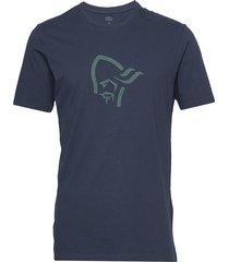 /29 cotton viking t-shirt m's t-shirts short-sleeved blå norrøna