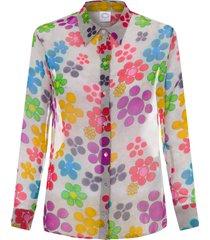 camisa feminina ana - cinza