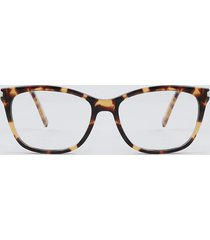 armação para óculos de grau feminina quadrada tartaruga