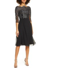 women's chi chi london myara glitter embroidered lace cocktail dress