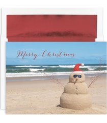 masterpiece studios beach snowman boxed cards