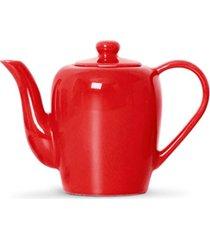bule para chã¡ ceramica standard 1.2lt ac26 - vermelho - feminino - dafiti
