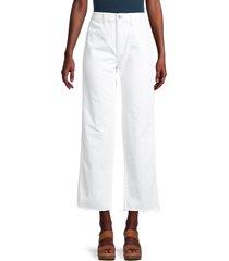 boyish women's the kirby vintage-fit straight-leg cropped jeans - vertigo - size 28 (4-6)