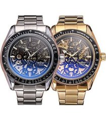 reloj winner automático hombre diseño skeleton