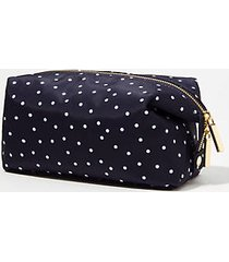 loft dotted cosmetic pouch