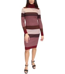 almost famous juniors' striped bodycon midi dress
