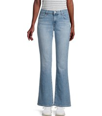 j brand women's sallie mid-rise bootcut jeans - marcella - size 23 (00)