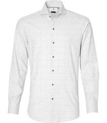 gentiluomo overhemd - slim fit - grijs