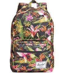 herschel supply co. pop quiz backpack in jungle hoffman at nordstrom
