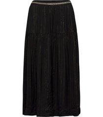 cokko skirt knälång kjol svart lollys laundry