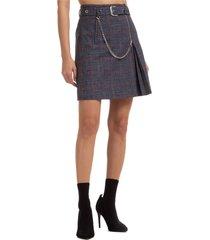 alberta ferretti traditional mini skirt