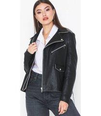 norr robin leather jacket skinnjackor