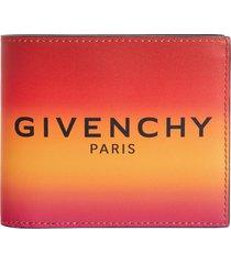 multicolored logo bifold wallet