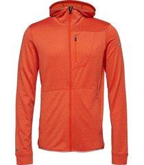puijo m hoodie jacket sweat-shirts & hoodies fleeces & midlayers orange halti