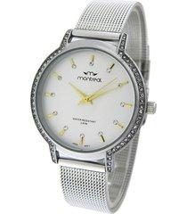 reloj plata montreal strass