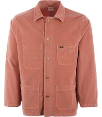 lois jeans french workers jacket - coral 1086