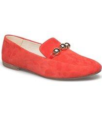 ayden loafers låga skor röd vagabond