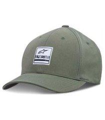 boné alpinestars stated verde militar