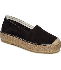 ida sandaletter expadrilles låga svart pavement