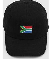 boné kanui dad cap south africa flag preto