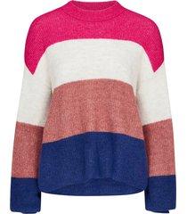 tröja clock knit pullover