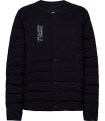 keanu light padded jacket gevoerd jack blauw wood wood