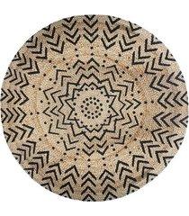 dywan jutowy okrągły valencia 120 cm