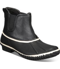 style & co heidie duck booties, created for macy's women's shoes