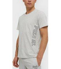 polo ralph lauren s/s crew t-shirt t-shirts & linnen heather
