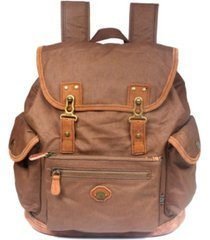 tsd brand dolphin canvas backpack