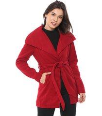 casaco queens paris amarração vermelho - kanui