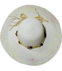 sombrero blanco donadonna meli