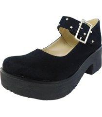 zapato negro dulce noelia  gam