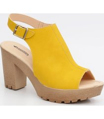 sandália feminina open boot mississipi
