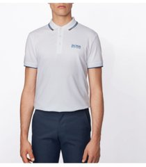 boss men's paddy pro active stretch golf polo shirt